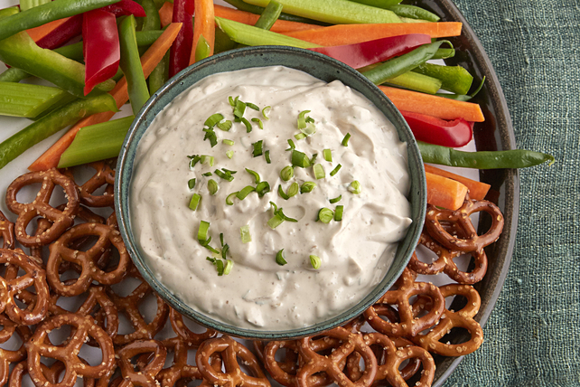 Creamy Triple-Onion Dip Image 1