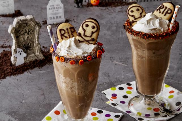 Lait fouetté au café pour l'Halloween Image 1