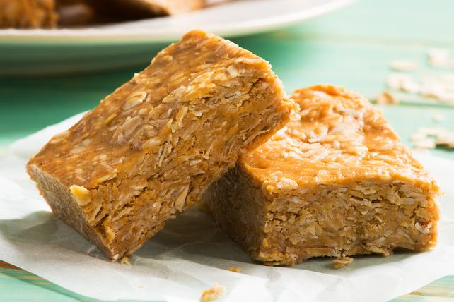Barres au beurre d'arachide, à la noix de coco et à l'avoine Image 1