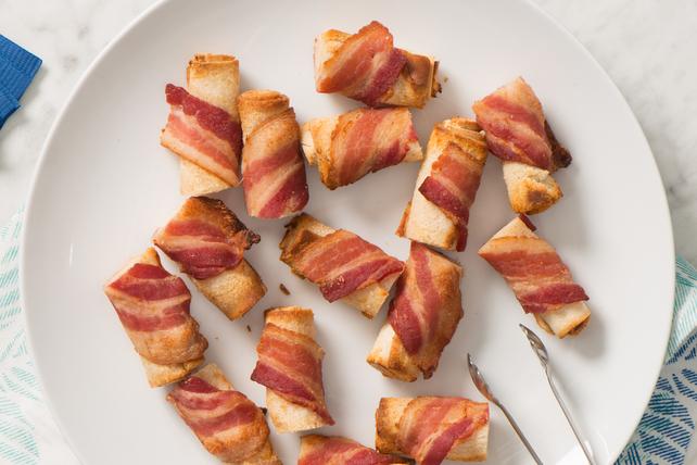 Bouchées à la sriracha enrobées de bacon Image 1