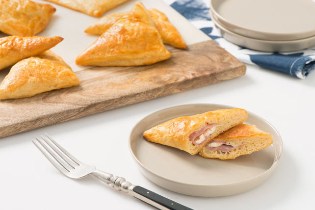 Honey-Glazed Ham-and-Cheese Danishes Image 1