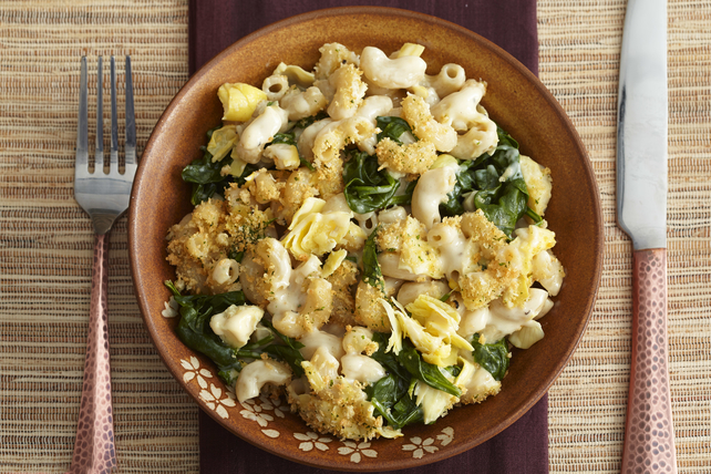 Spinach-and-Artichoke Mac & Cheese Image 1