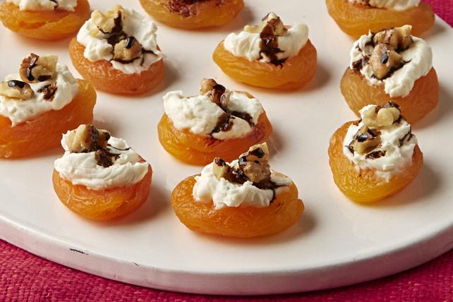 Bouchées d'abricot au fromage et au balsamique Image 1