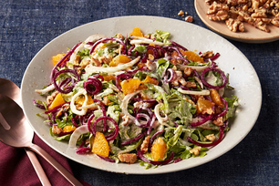 Spiralized Beet & Orange Salad