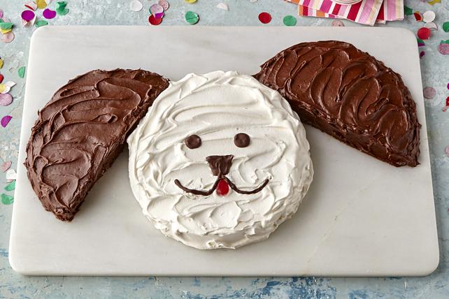 Gâteau en forme de chien Image 1