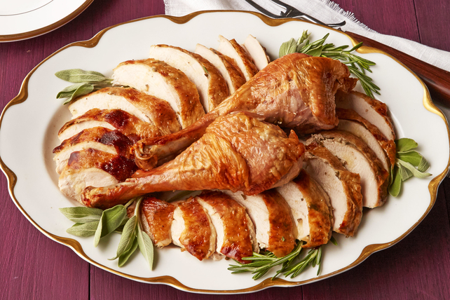 Herb Butter-Roasted Turkey
