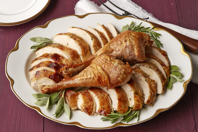 Roast Turkey with Herb Butter Image 1