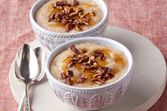 Maple-Pecan Amaranth Porridge