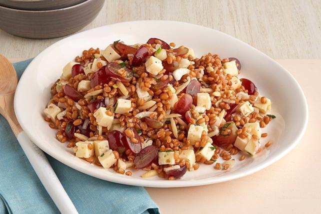 Sweet Grape and Grain Salad Image 1