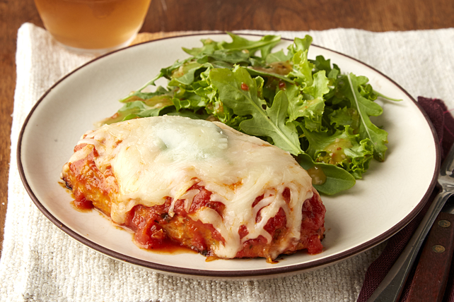 Make-Ahead Chicken-Parmesan Meatloaves Image 1