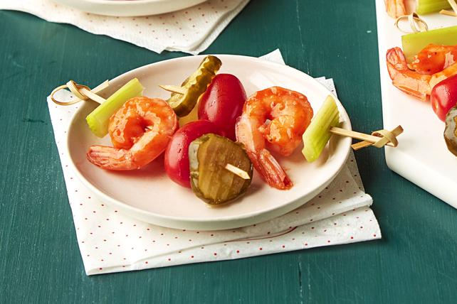 Bloody Mary Shrimp Skewers Image 1