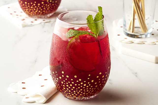 Cherry Pomegranate-Ginger Fizz Image 1