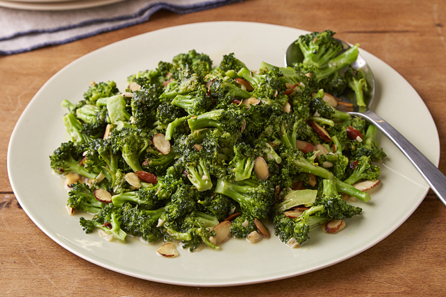 Sweet & Sour Fried Broccoli Image 1