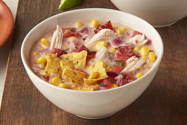 Creamy Chicken-Tortilla Soup Image 1