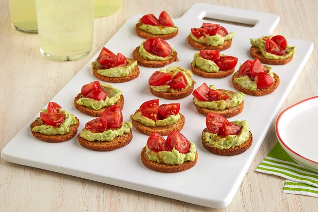 Mini Avocado Toasts Recipe Image 1