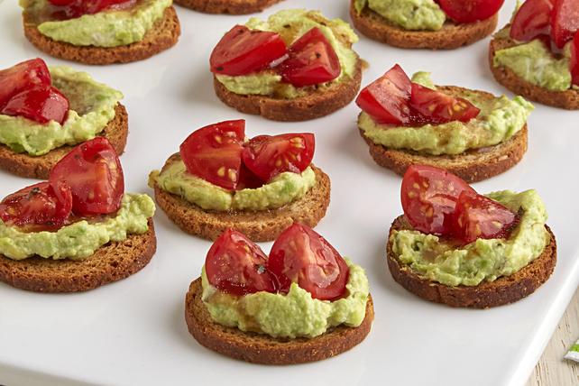 Mini Avocado Toasts Image 1