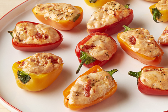 Cheesy Pizza-Stuffed Peppers Image 1