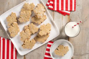 Biscuits en forme de feuille d'érable
