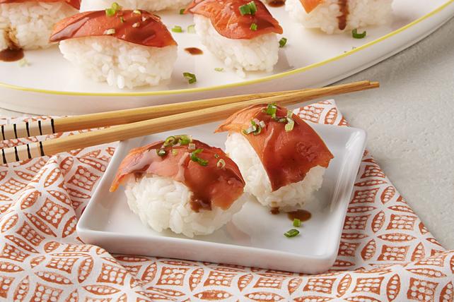Smoked Salmon Sushi Image 1