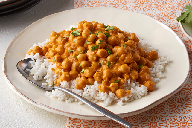 Curried Chickpeas Image 1