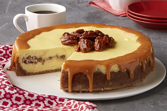 Gâteau au fromage au beurre et aux pacanes Image 1
