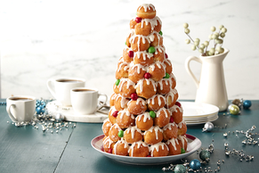 Easy Cream Puff Tower