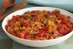 Italian Garden Spaghetti Squash Primavera