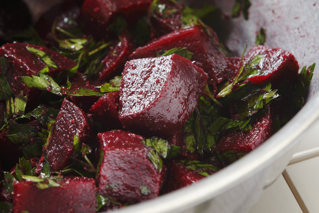 Balsamic Beet and Parsley Salad