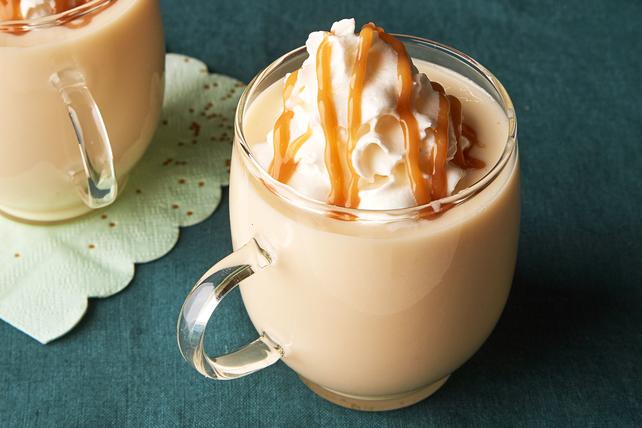 Caramel White Hot Chocolate Image 1