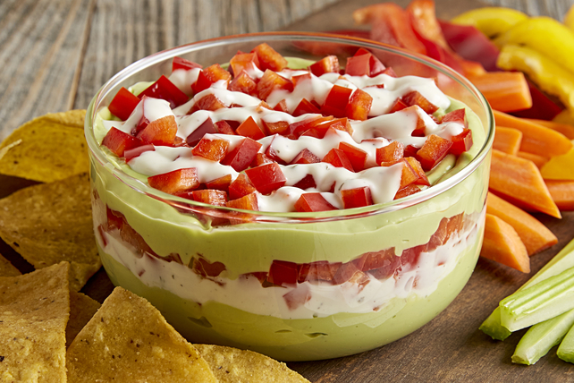 Layered Avocado Ranch Dip Image 1