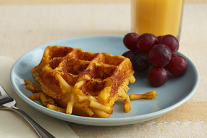 KRAFT Mac and Cheese Waffle