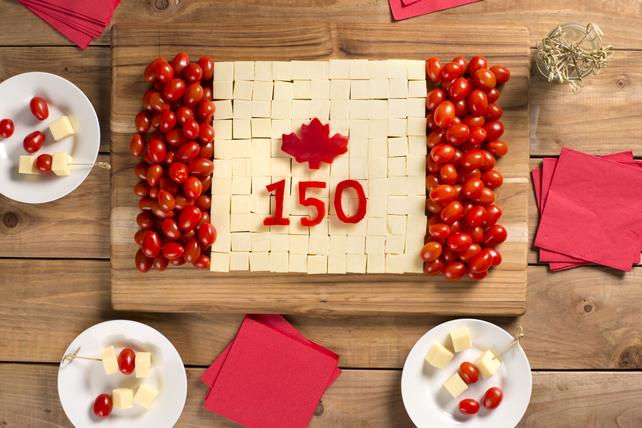 Canada Day Cheese Board Image 1