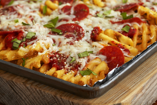 Pepperoni Pizza Fries Image 1