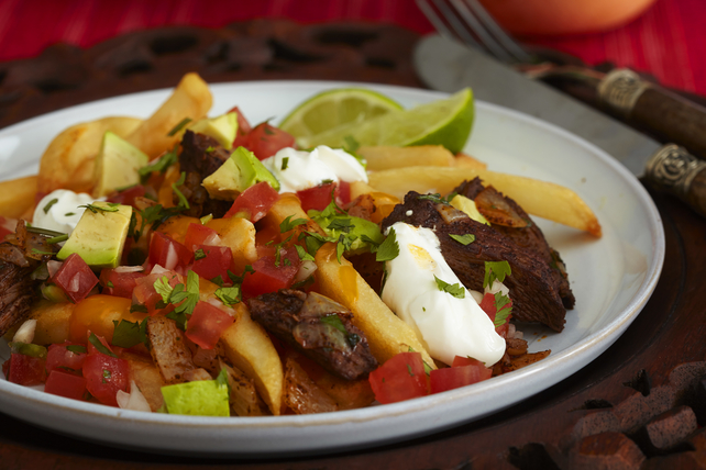 Loaded Steak Carne Asada Taco Fries Image 1