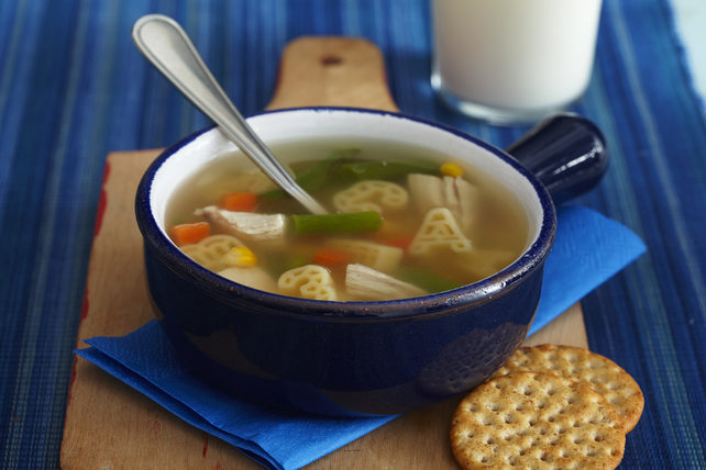 KRAFT Pasta Shapes Quick Chicken Soup Image 1