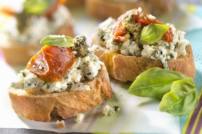 Greek Appetizer Crostini Image 1