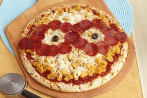 Minion Mac 'n Cheese Pizza