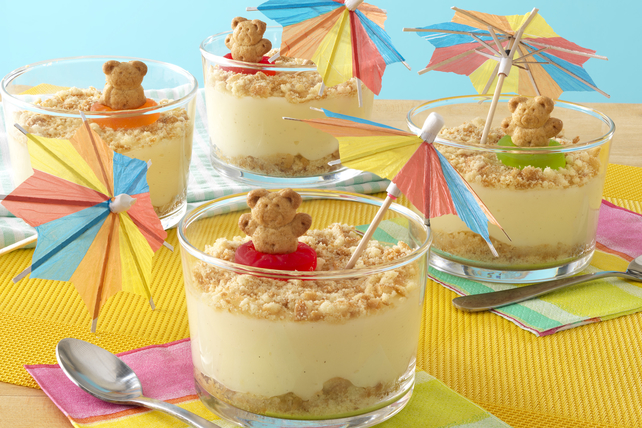 Day-at-the-Beach Pudding Cups Image 1