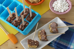 JELL-O® Mini S'more Pudding Pops