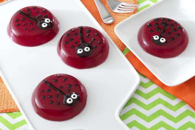 Easy JELL-O® Ladybug Treats Image 1
