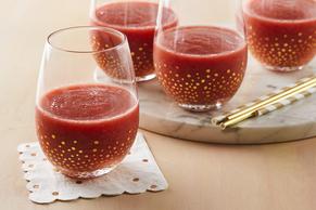 Strawberry-Rosé Wine Slushie