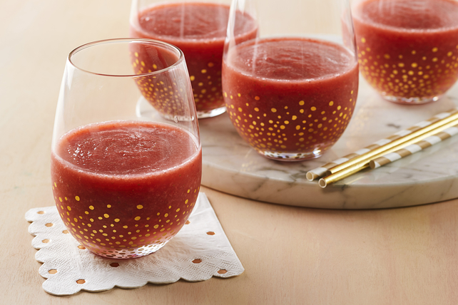 Strawberry-Rosé Wine Slushie Image 1
