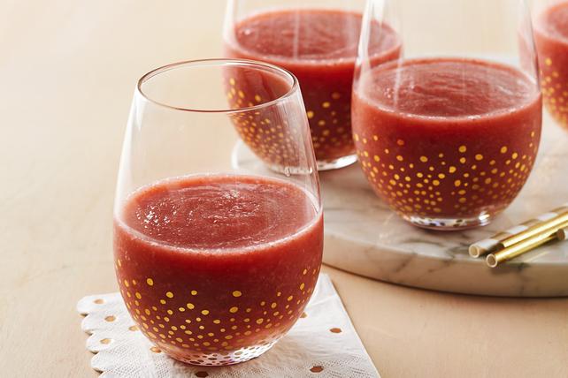 Barbotine au vin rosé et aux fraises Image 1