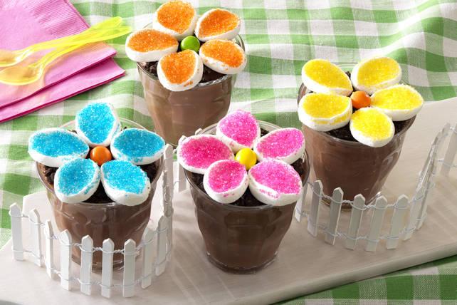 Coupes de pouding «pot de fleurs» Image 1