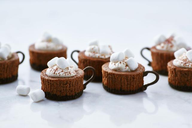 Hot Cocoa Cheesecake Minis Image 1