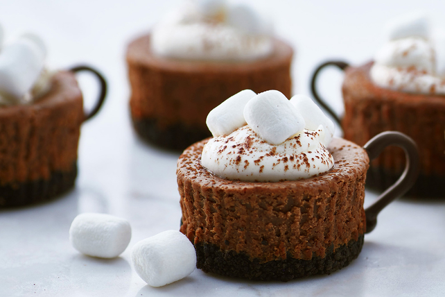 Hot Cocoa Cheesecake Minis Image 1
