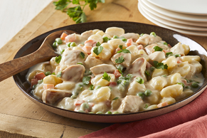Skillet Chicken & Italian Dumplings