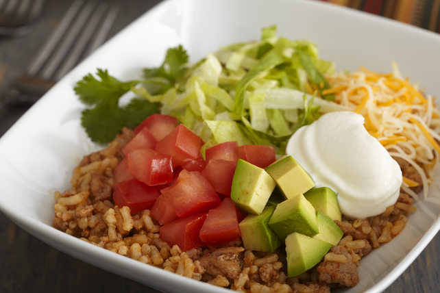 Turkey Taco Bowl Image 1