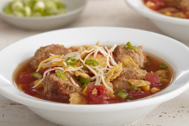 Soupe aux tacos à la mijoteuse Image 1