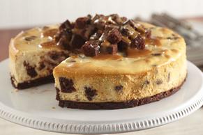 Salted-Caramel Brownie Cheesecake Image 2